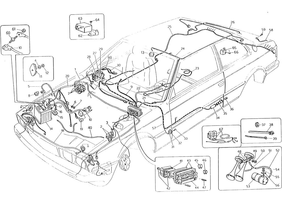 1984 chrysler lebaron wiring diagram  chrysler  auto