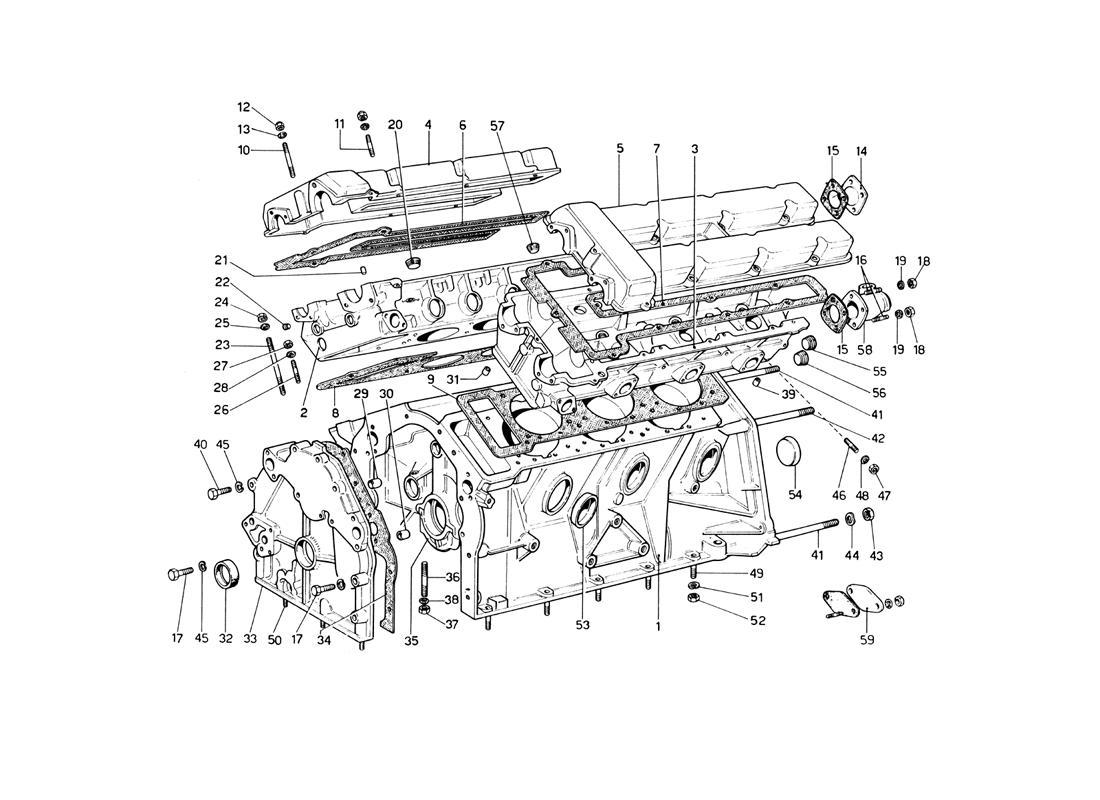 Diagram Search for Ferrari 246 Dino (1975) - FerrpartsFerrparts