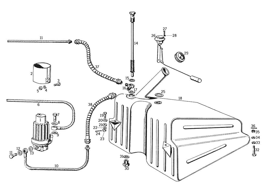 ferrari 250 gte wiring diagram