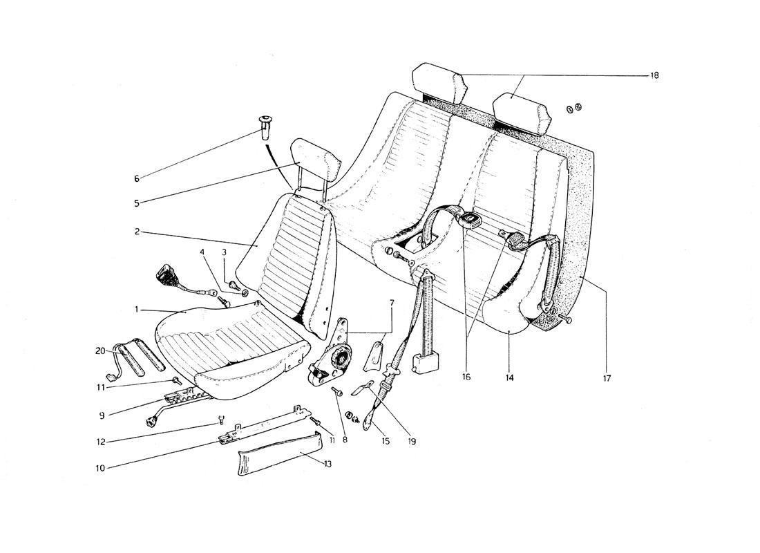Ferrari 308 Gt4 Wiring Diagram Electrical Diagrams 1978 Parts 355 Breathtaking Dino 8 Ideas