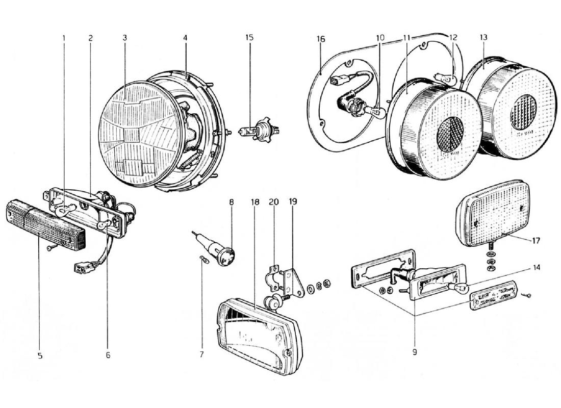 Excellent Diagram Search For Ferrari 308 Gtb 1976 Ferrparts Wiring 101 Israstreekradiomeanderfmnl