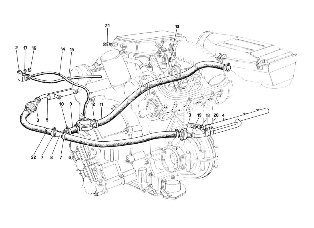 Diagram Search for Ferrari 328 (1988) - Ferrparts on
