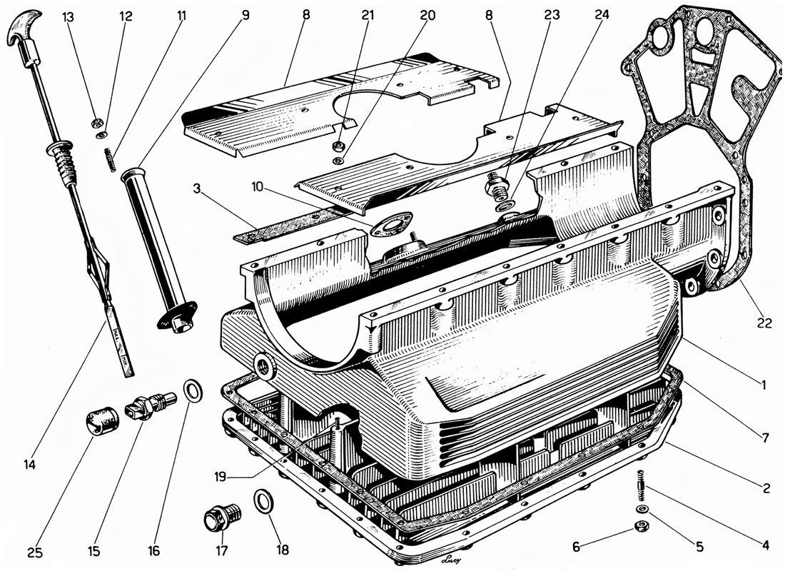 Diagram Search for Ferrari 330 GT 2+2 - Ferrparts on