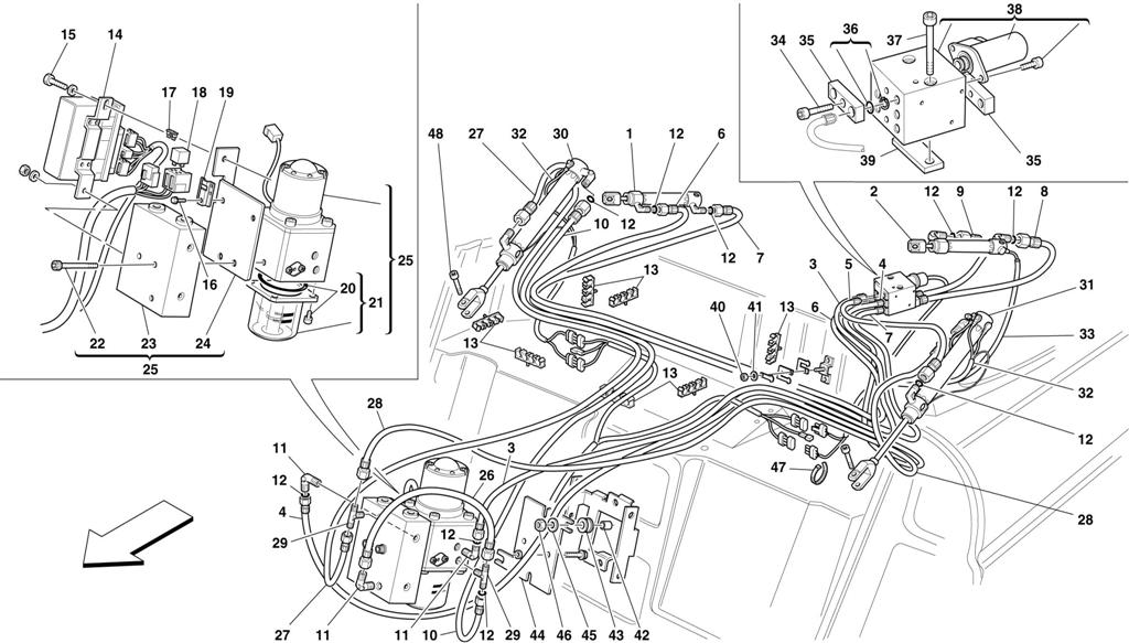 5 2 Engine Diagram Motronic Wiring Page 3 And Schematics Search For Ferrari 355 Ferrparts Rh Com 1996