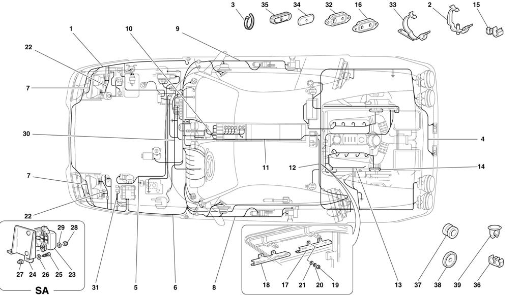 Terrific Diagram Search For Ferrari 355 5 2 Motronic Ferrparts Wiring Digital Resources Cettecompassionincorg