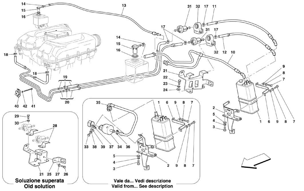 Diagram Search For Ferrari 360 Spider Ferrparts Engine