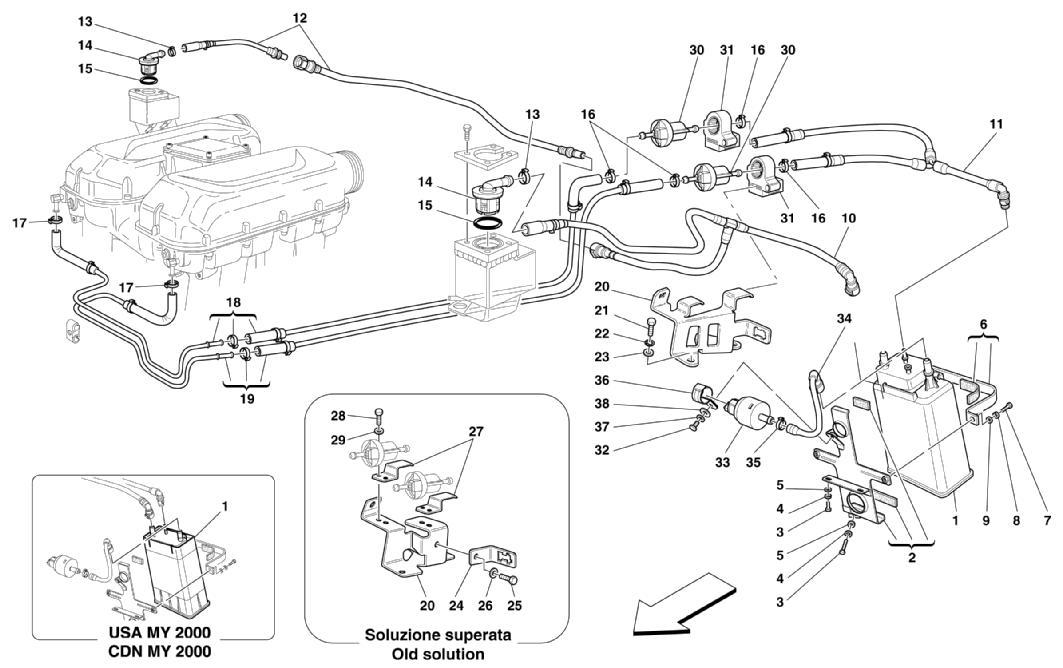 Diagram Search For Ferrari 360 Spider Ferrparts Wiring Diagrams