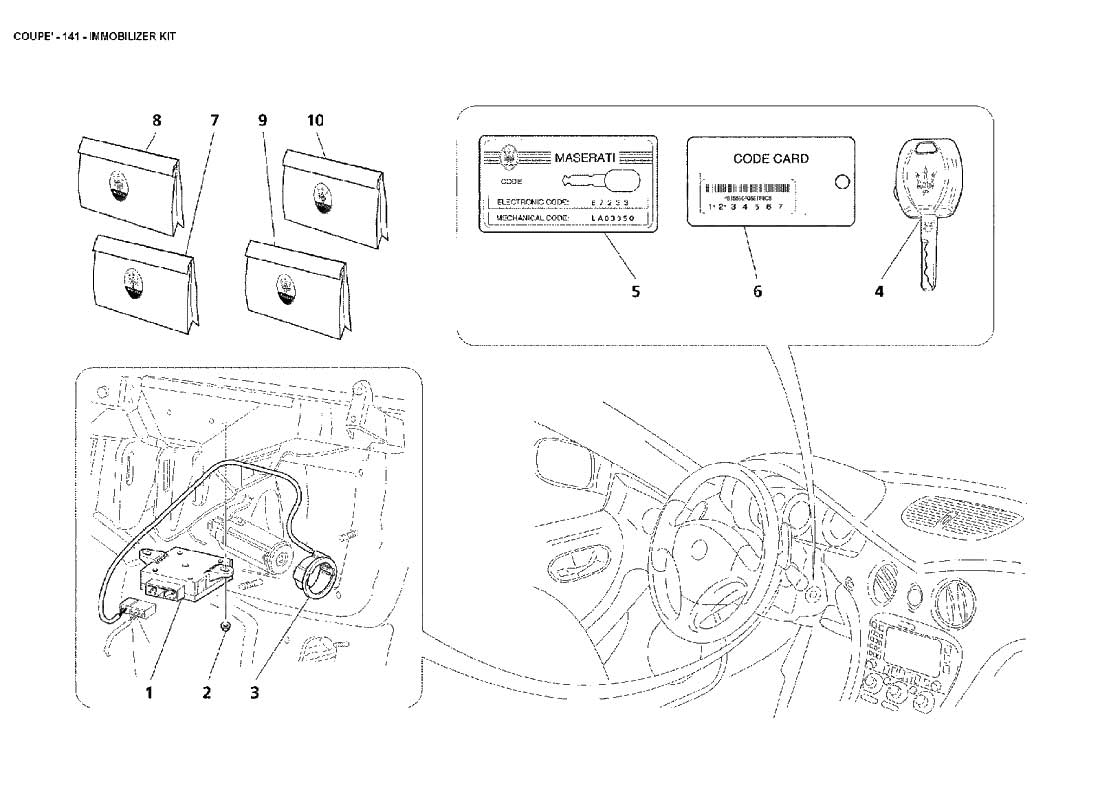 Diagram Search For Maserati 4200 Coupe Ferrparts Spyder Wiring