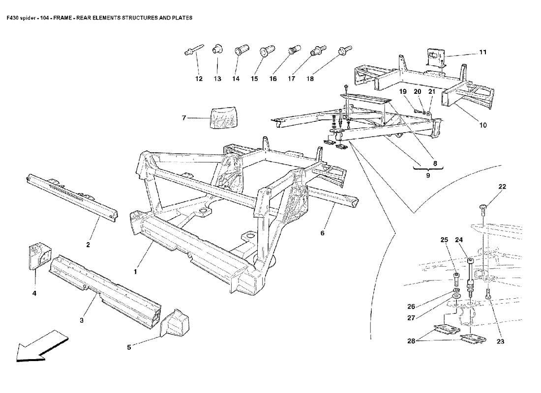 Diagram Search for Ferrari 430 Spider - Ferrparts on f355 spider, ferrari gto, ferrari california, ferrari f355, ferrari f12 berlinetta, ferrari testarossa, ferrari spyder, ferrari cars, ferrari roadster, ferrari scuderia, ferrari fxx, testarossa spider, ferrari f440, ferrari f40, ferrari 612 scaglietti,