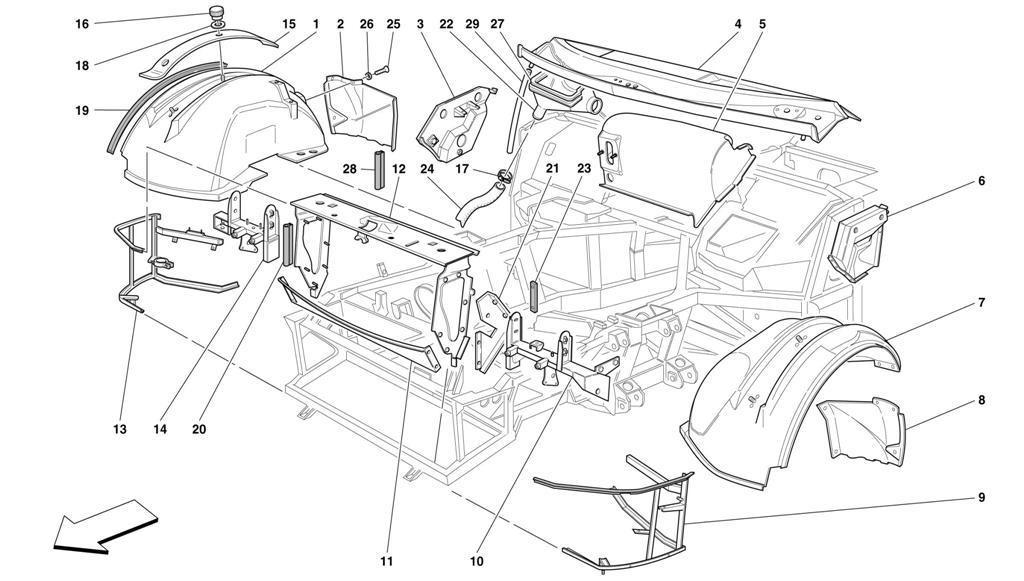 Diagram Search For Ferrari 456 Gt Ferrparts 134 F Head Engine