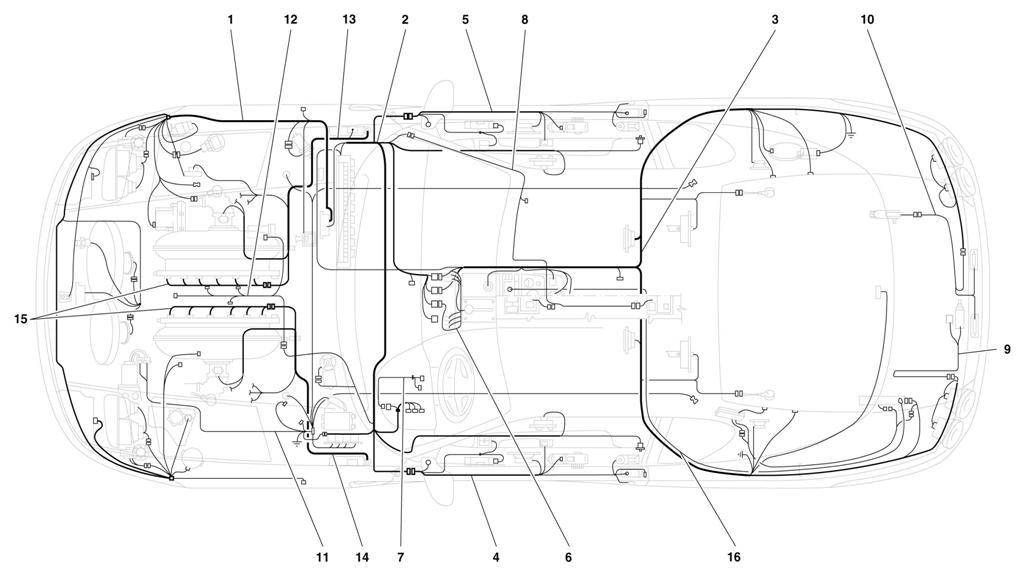 Diagram Search for Ferrari 456 GT - Ferrparts on ferrari mondial wiring diagram, ferrari 308 wiring diagram, ferrari 456 headlight conversion,