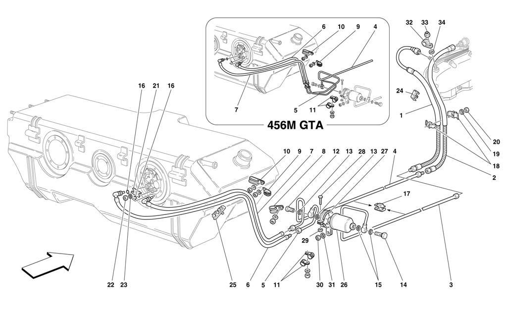 Diagram Search for Ferrari 456 M GT - Ferrparts on ferrari 456 headlight conversion, ferrari 308 wiring diagram, ferrari mondial wiring diagram,
