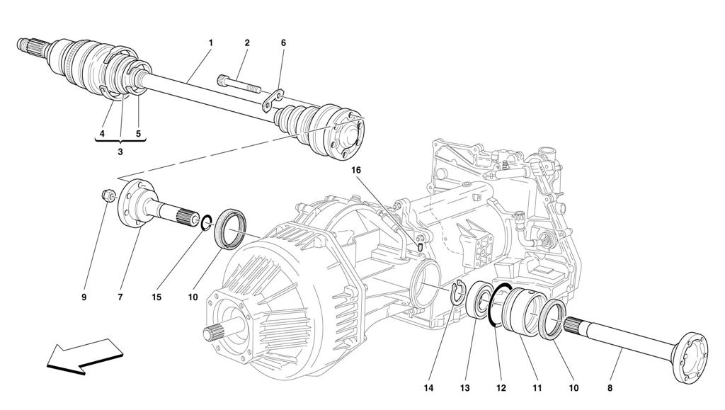 Diagram Search For Ferrari 456 M Gta Ferrparts Wiring