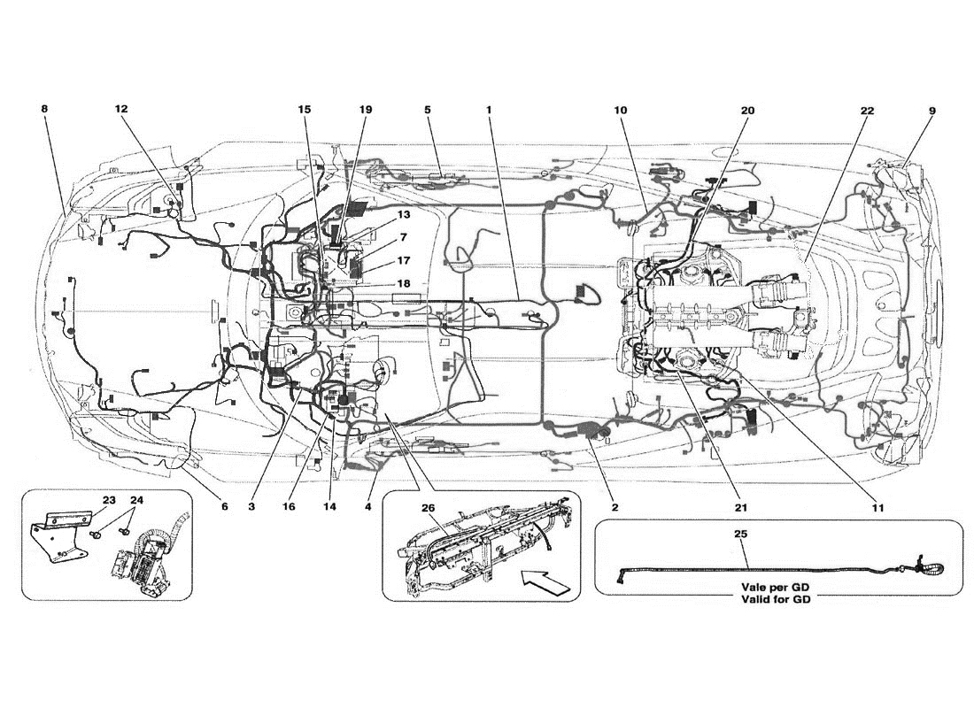 Ferrari Electrical Wiring Diagram