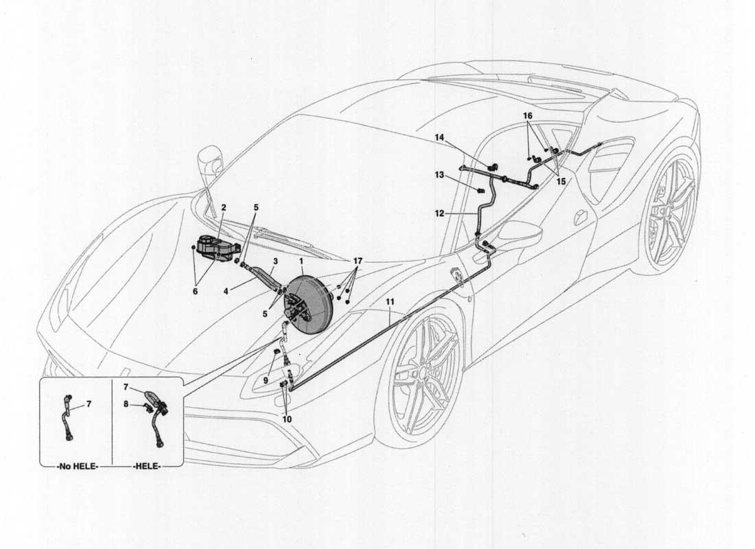 Diagram Search for Ferrari 488 GTB - Ferrparts on