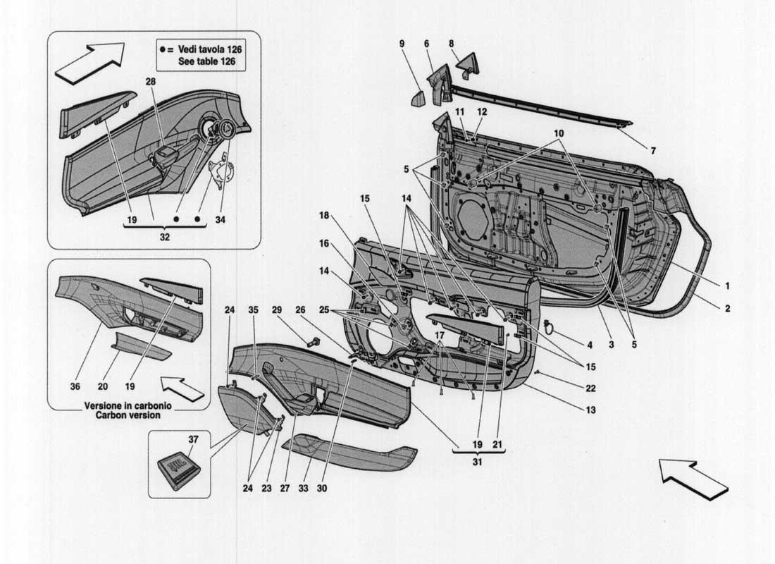 ferrari ff parts diagram