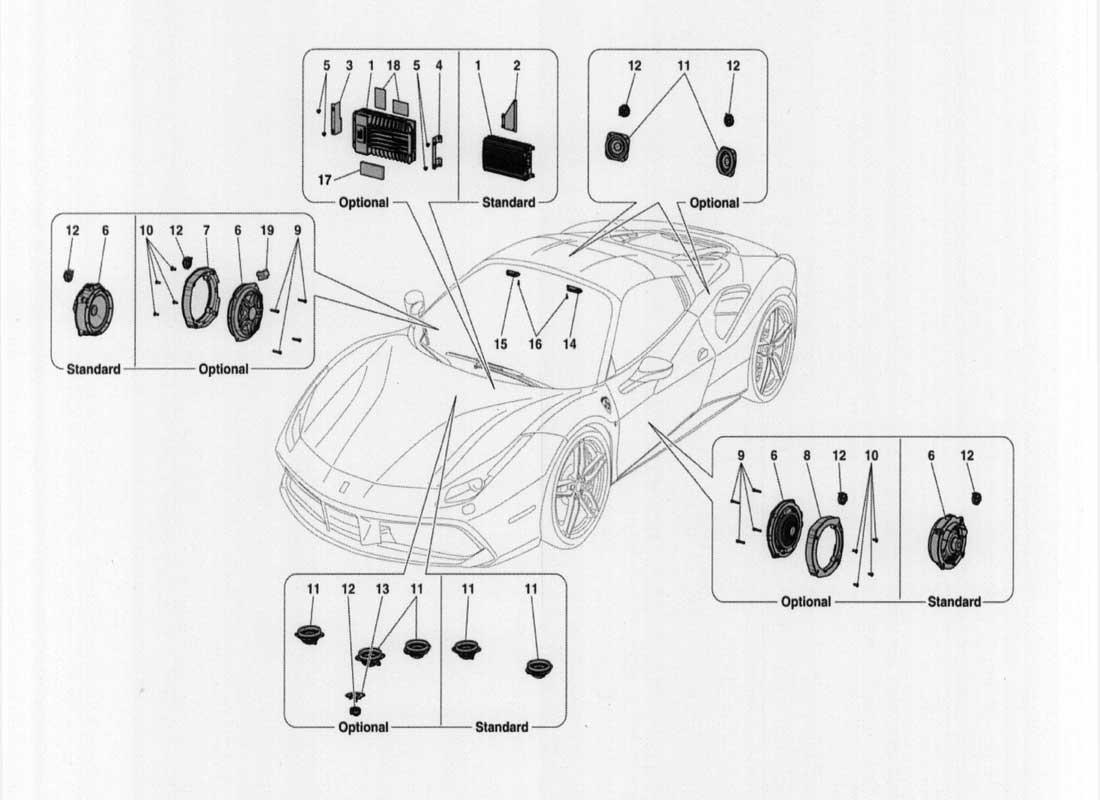 Diagram Search For Ferrari 488 Spider Ferrparts 1984 Pininfarina Wiring
