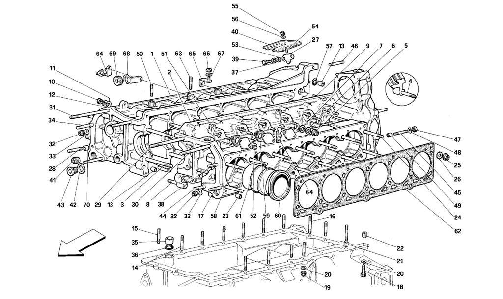 Diagram Search for Ferrari 512 M - Ferrparts on ferrari 512 s, ferrari 512 tr, ferrari 512 le mans, ferrari 456 m, ferrari 512 bb, ferrari 512 bbi,