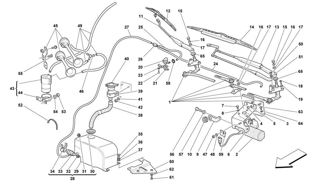 diagram search for ferrari 550 maranello ferrparts rh ferrparts com Ferrari 550 Barchetta Ferrari 575
