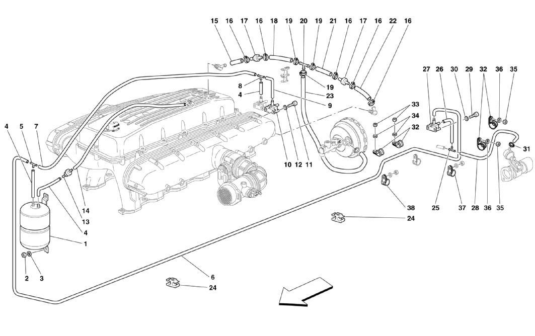 Diagram Search for Ferrari 575M Maranello - Ferrparts on