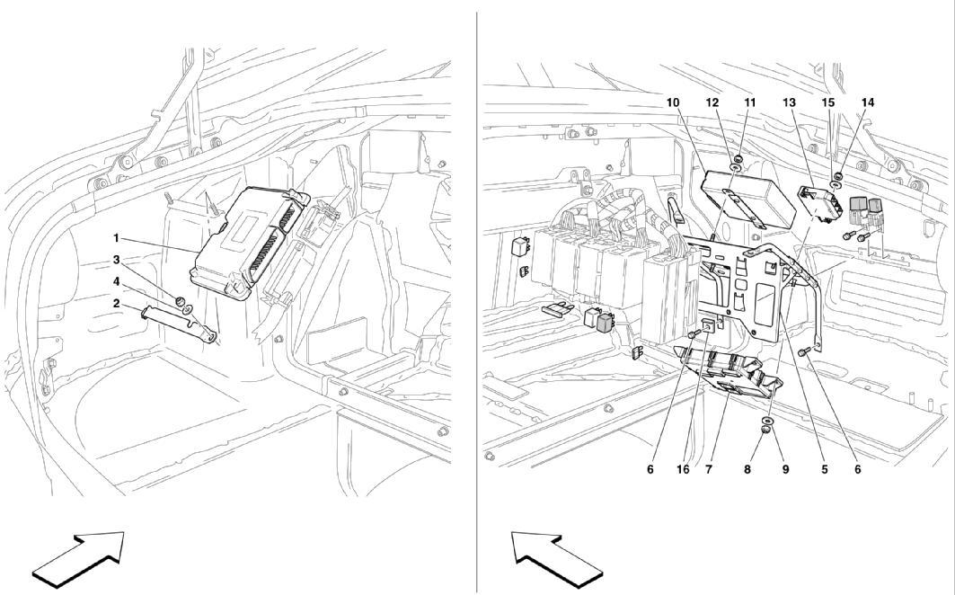 Ferrari 612 Fuse Diagram - number one wiring diagram sources on ferrari 308 qv wiring, ferrari 308 gts,