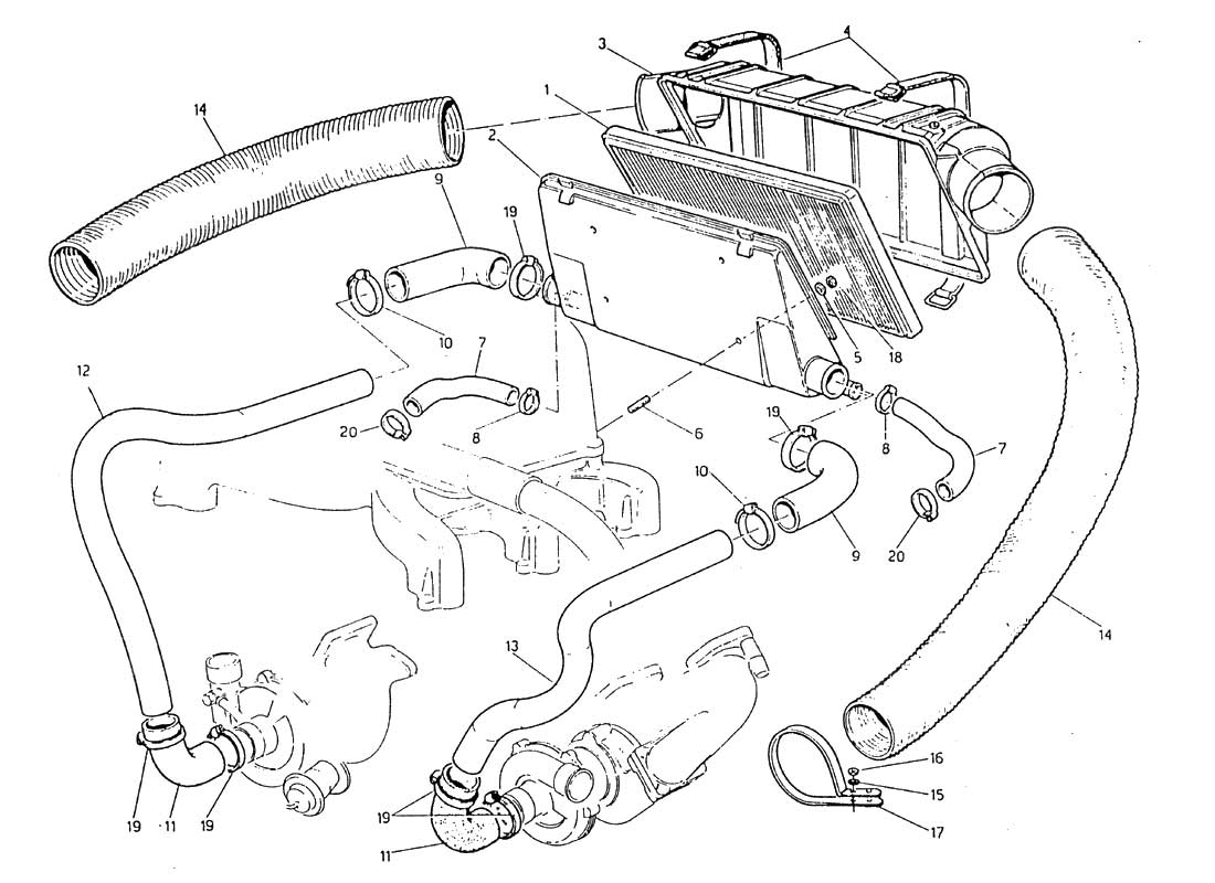 Diagram Search for Maserati Biturbo 2 5 (1984) - Ferrparts
