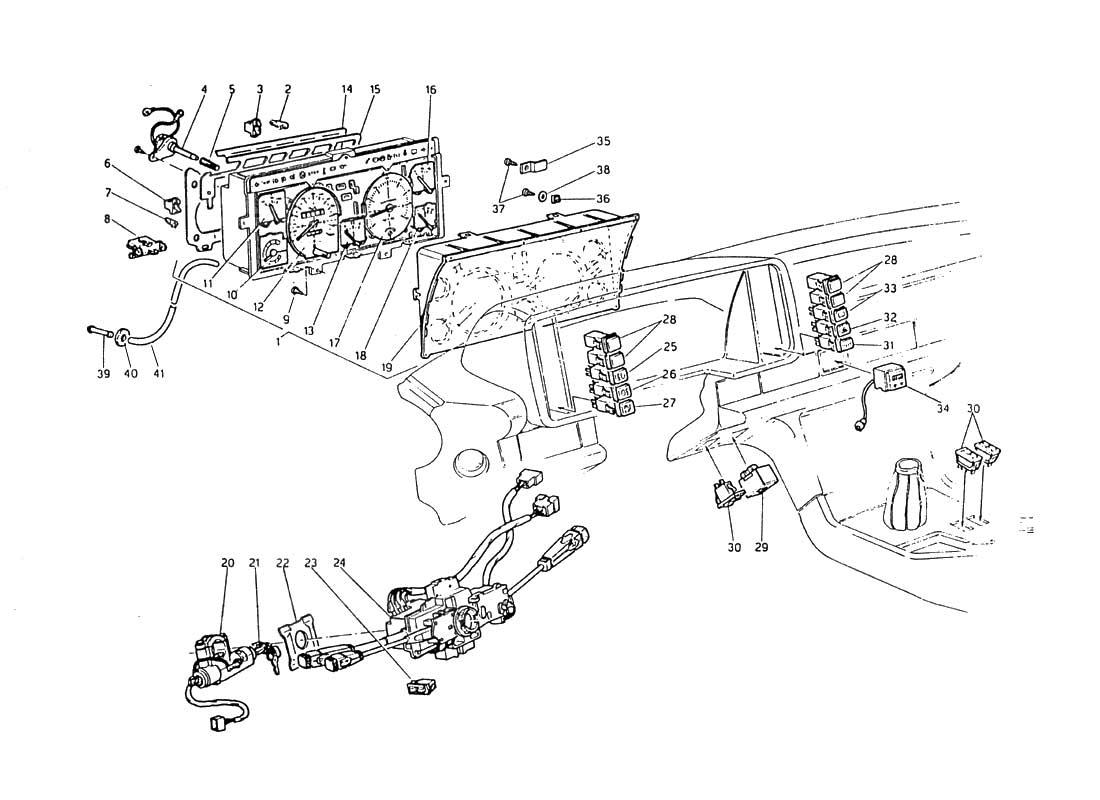 Maserati Biturbo Wiring Wire Center Aabrands A Audiopulseelectronicsawa 8300f001906awajpg Diagram Search For 2 5 1984 Ferrparts Rh Com Mc12 3200