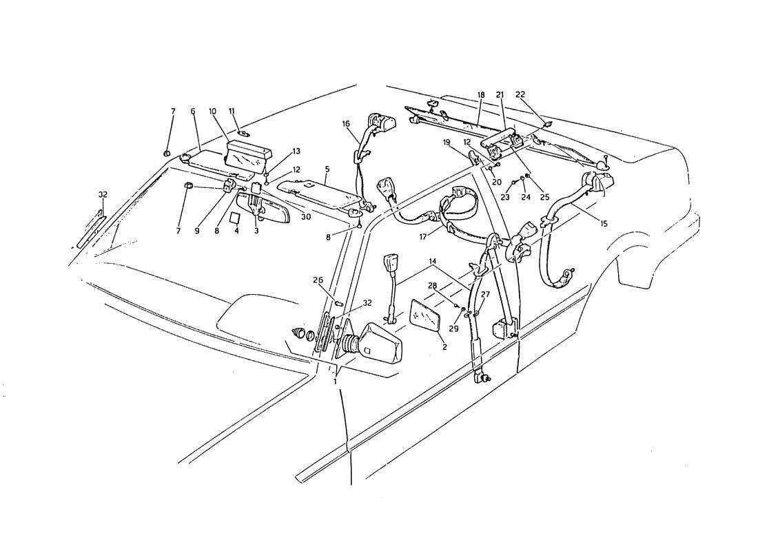 Excellent 1984 Maserati Biturbo Wiring Diagram Diagram Data Schema Wiring Digital Resources Remcakbiperorg