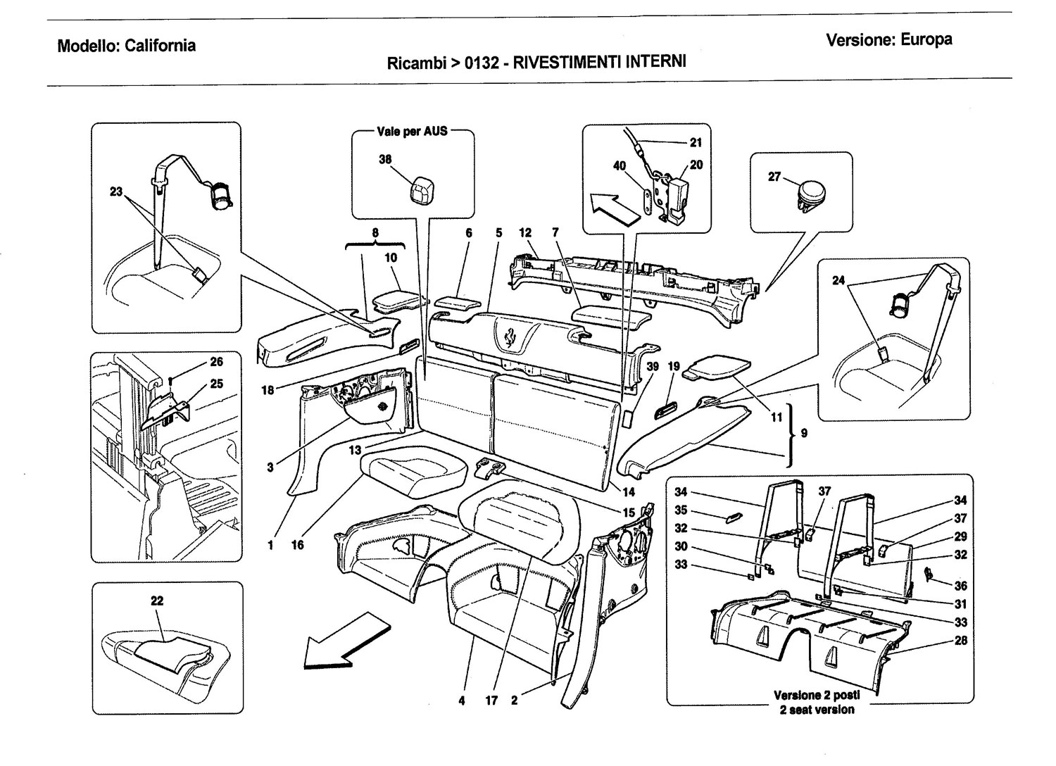 Diagram Search For Ferrari California Ferrparts 1984 Pininfarina Wiring