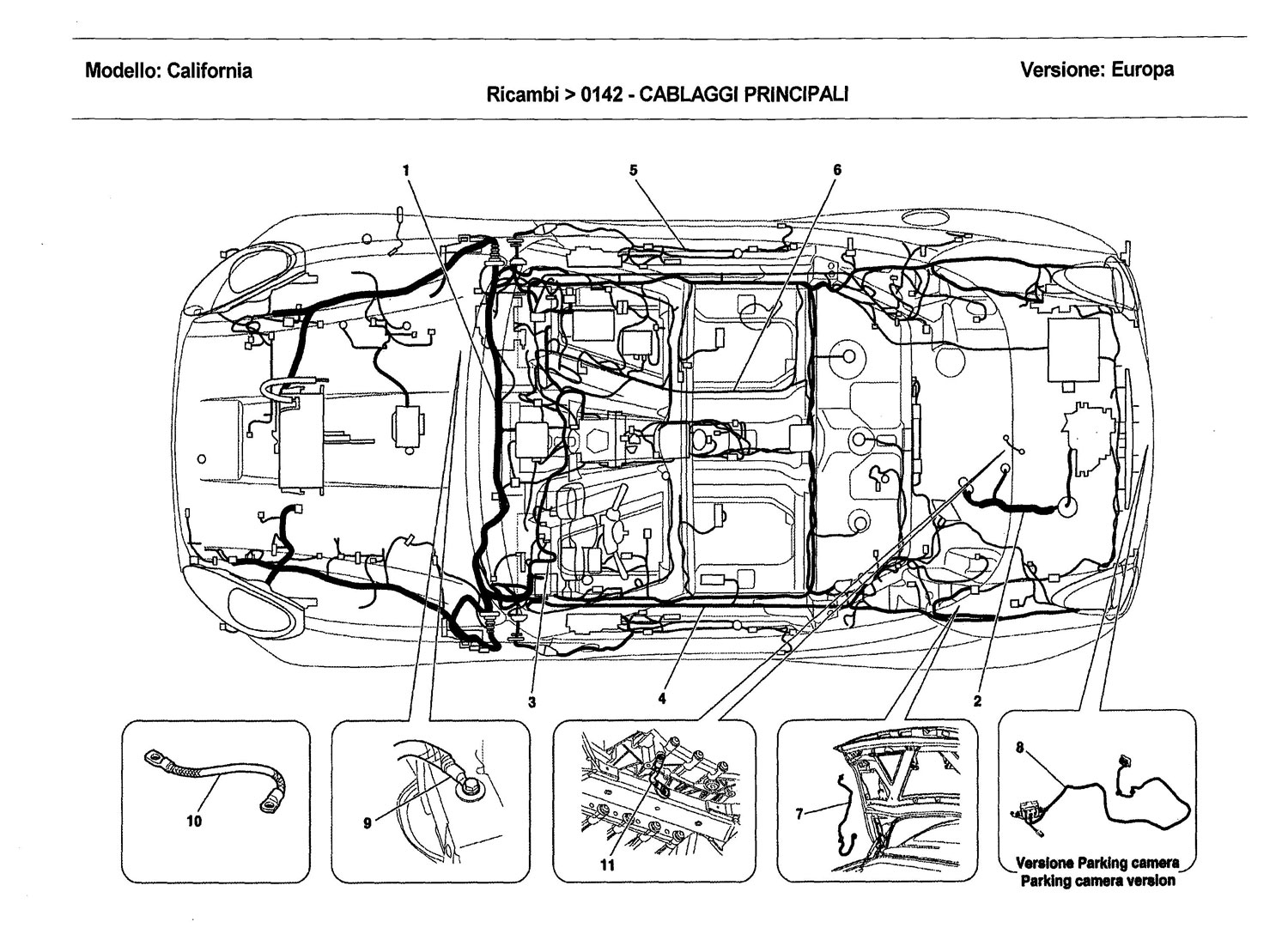 ferrari california engine diagrams  ferrari  auto wiring