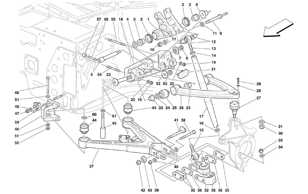 Diagram Search for Ferrari Enzo - Ferrparts on ferrari 308 qv wiring, ferrari 308 gts,