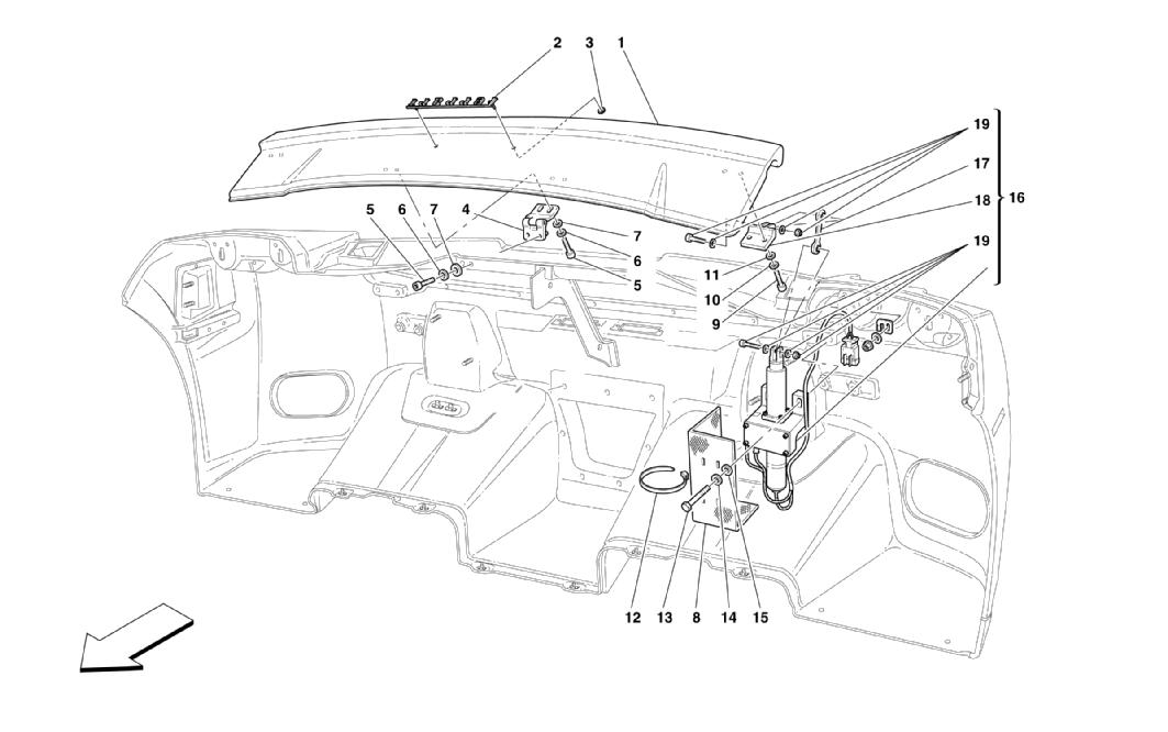 Diagram Search For Ferrari Enzo