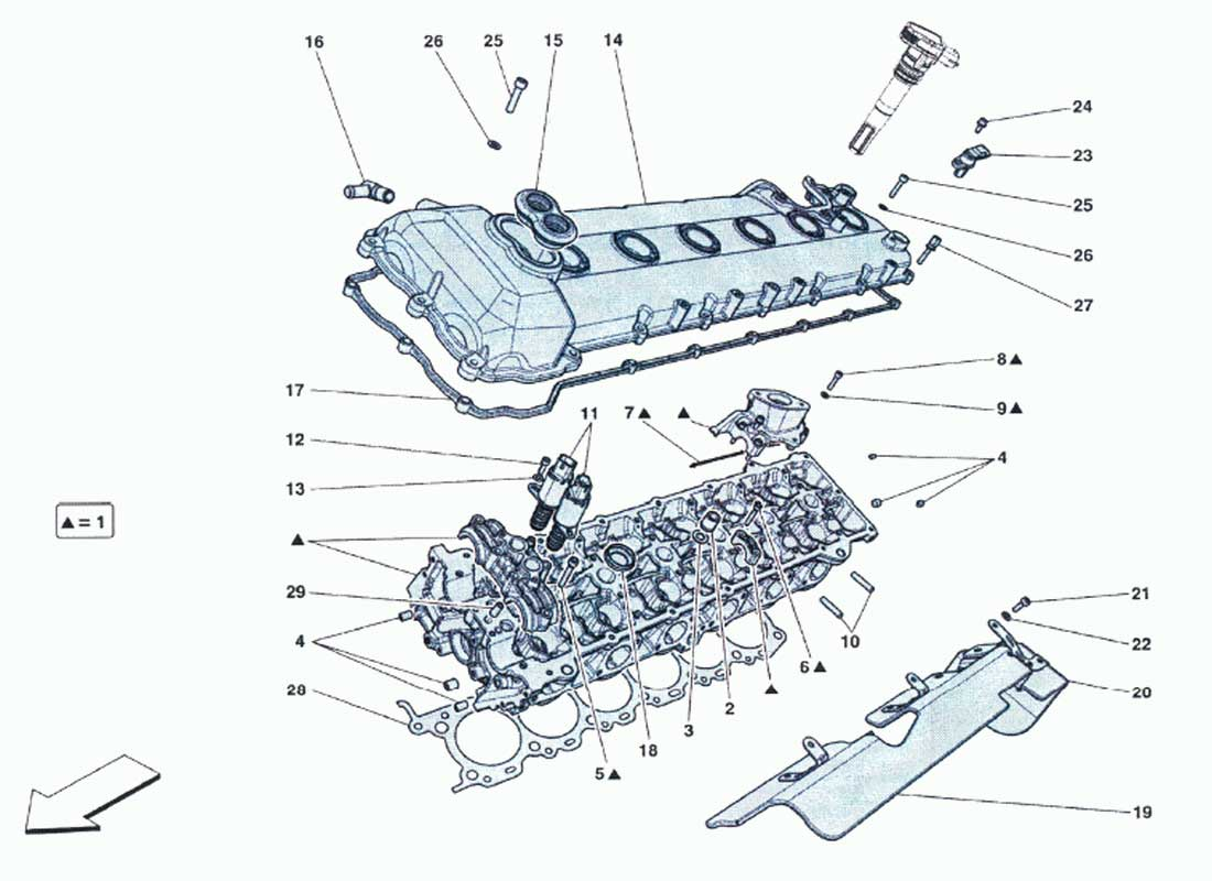ferrari f12 engine diagram