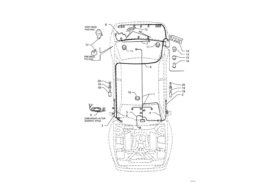 maserati spyder wiring diagram simple circuit battery