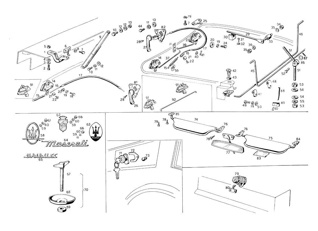 Diagram Search For Maserati Ghibli 47 Ferrparts 1984 Biturbo Wiring