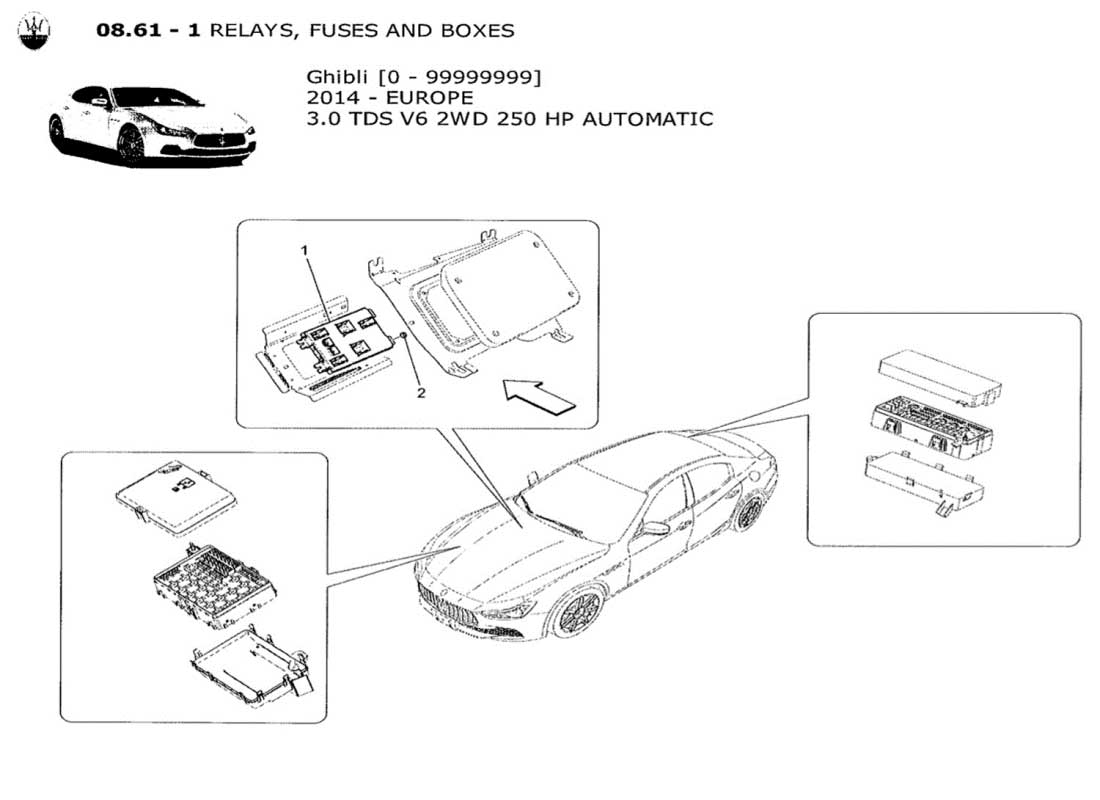 Maserati Fuse Box - Wiring Diagram Schematics on