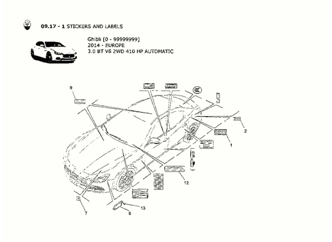 Diagram - STICKERS AND LABELS: 102 - Ferrparts on car diagram without labels, car diagram with titles, car drawing with labels, car parts with labels, car model with labels, motor car with labels, car diagram with parts labeled,