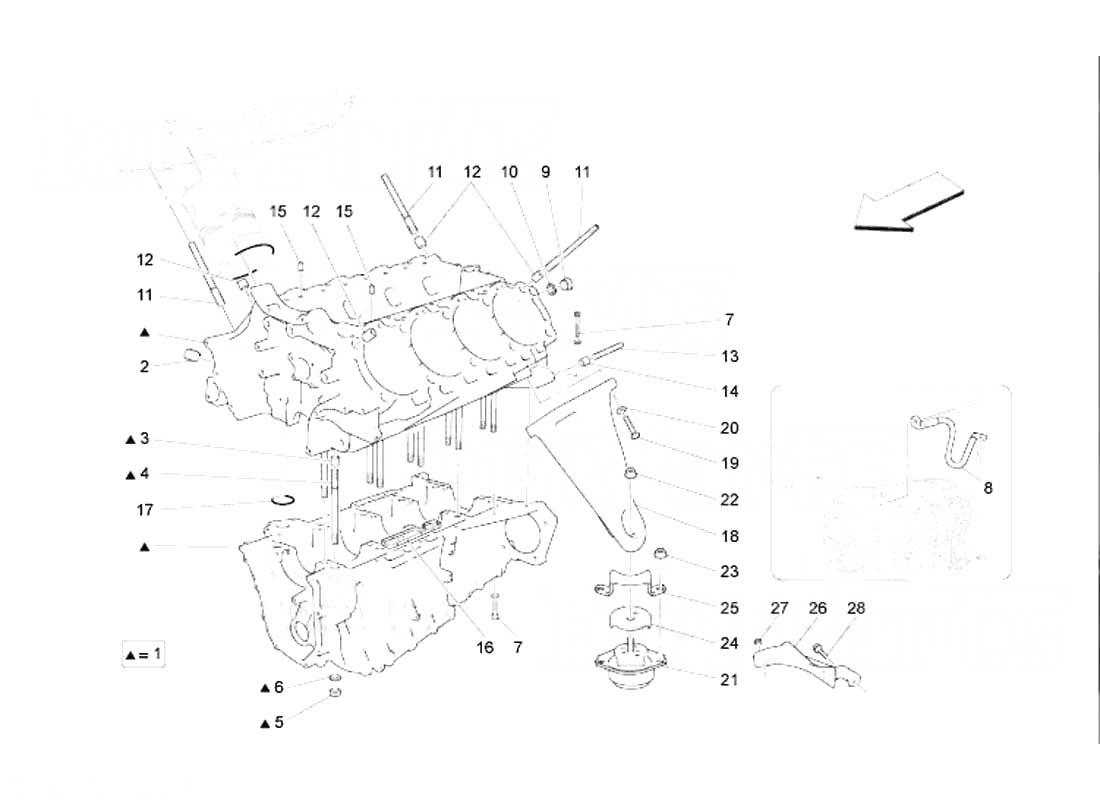 Diagram Search for Maserati GranTurismo (2008) 4.2 - FerrpartsFerrparts