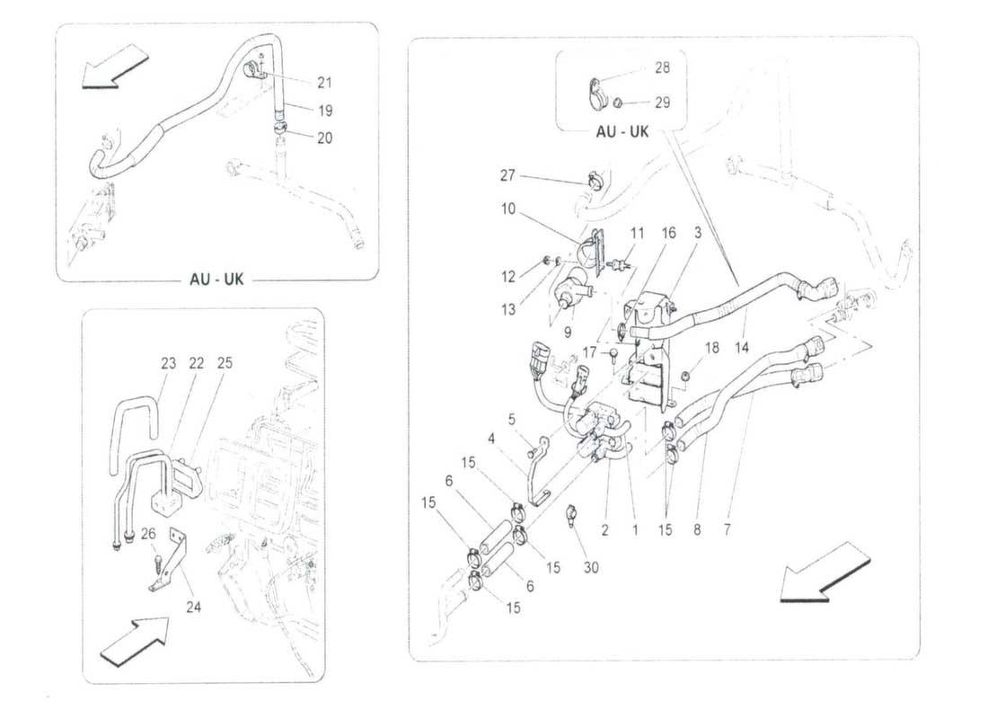 ... Diagram Search for Maserati Granturismo MC Stradale - Ferrparts on  honda accord wiring diagrams, ...