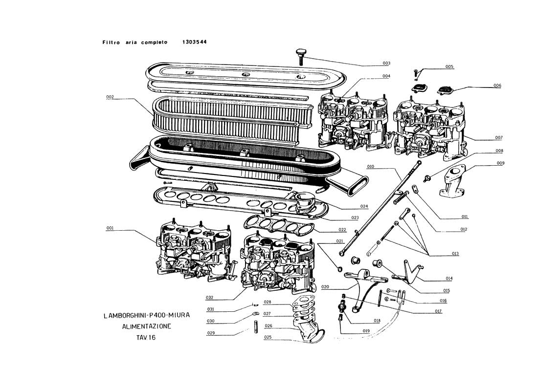 Marvelous Diagram Search For Lamborghini Miura Ferrparts Wiring 101 Carnhateforg