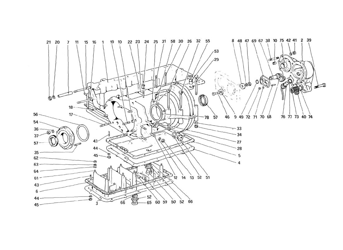diagram search for ferrari mondial 3 0 qv 1984 ferrparts rh ferrparts com