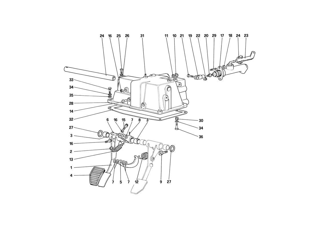 diagram search for ferrari mondial 3 2 qv 1987 ferrparts rh ferrparts com
