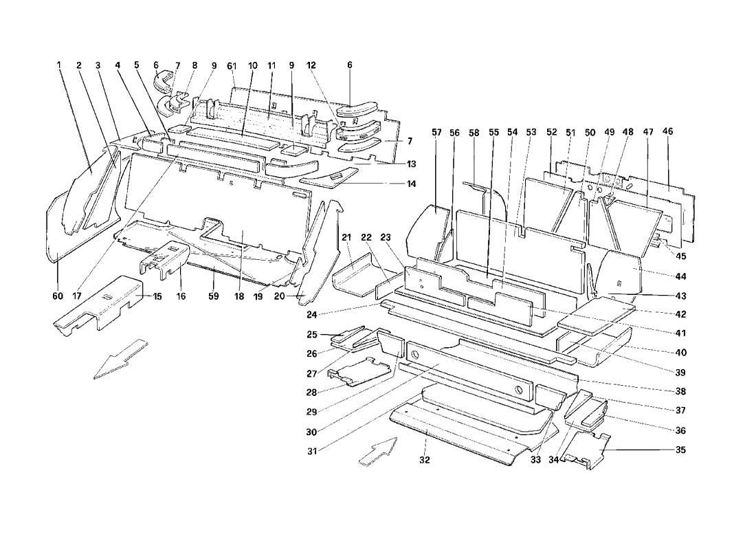 Diagram Search for Ferrari Mondial 3.2 QV (1987) - Ferrparts