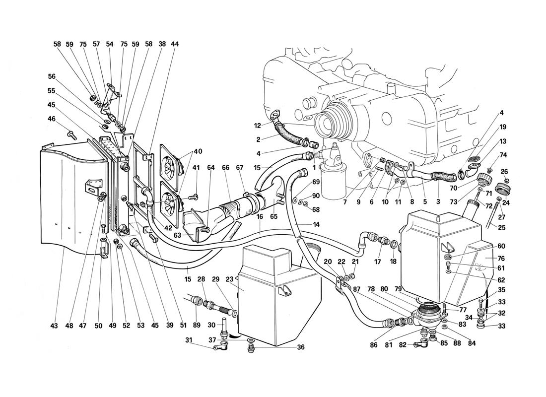 diagram search for ferrari testarossa (1987) - ferrparts ferrari 512 tr for wiring diagram  ferrparts
