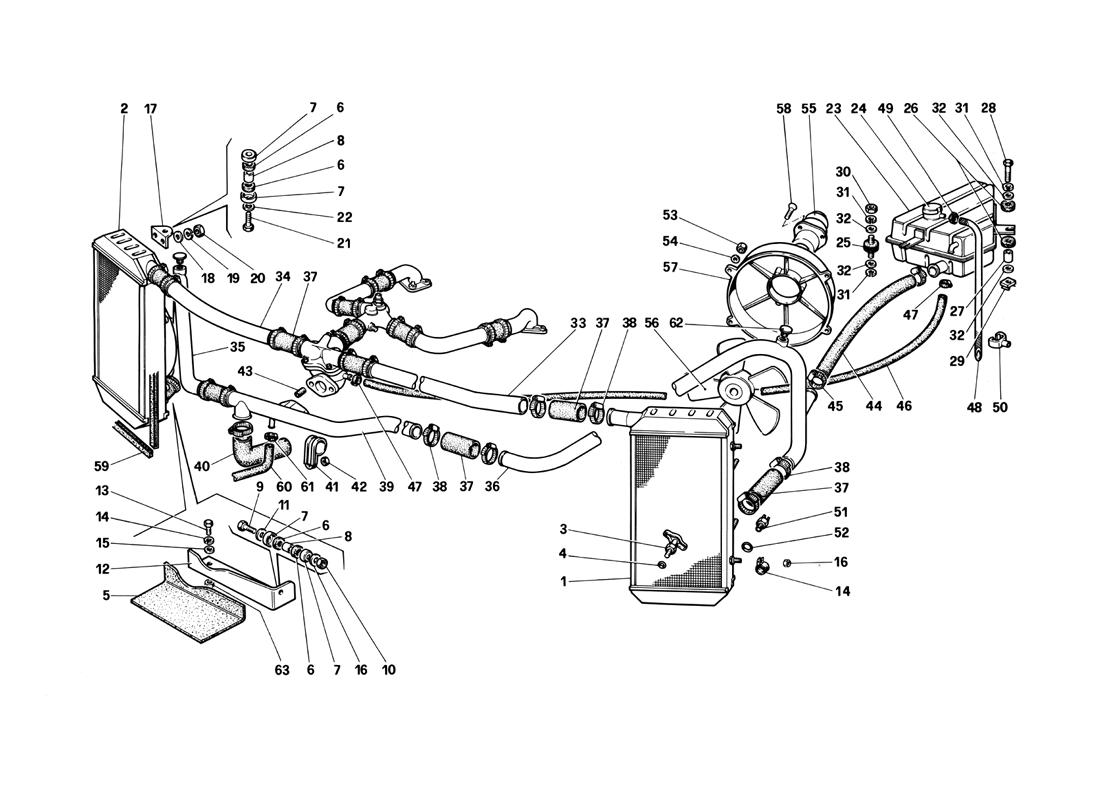 Diagram Search For Ferrari Testarossa 1990 Ferrparts Of 2004 Nissan Murano Engine